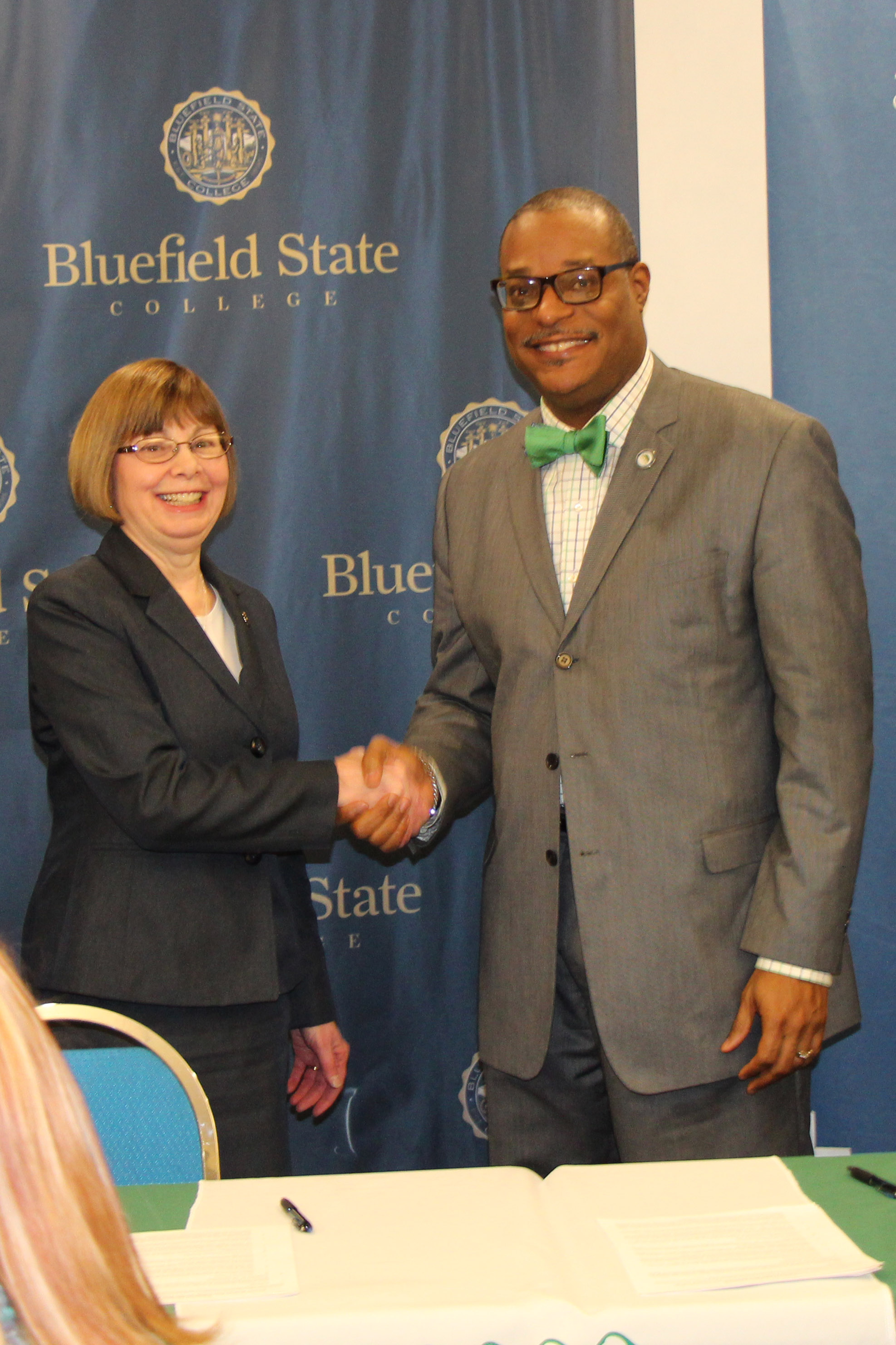 New River Ctc And Bluefield State College Sign Guaranteed Admission
