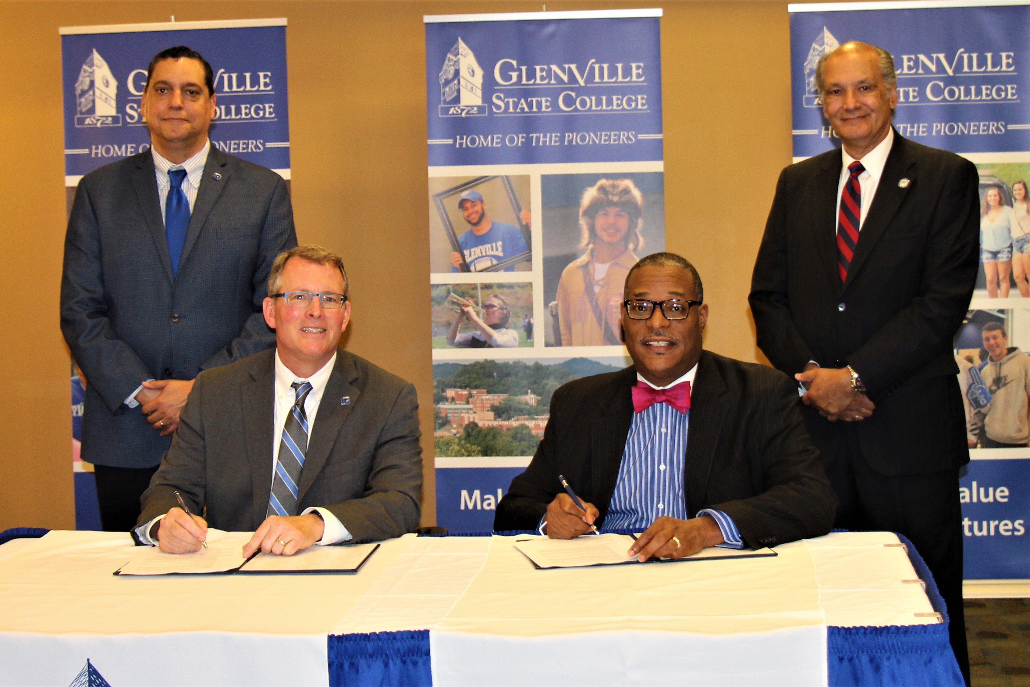 New River Ctc And Glenville State College Sign Guaranteed Admission