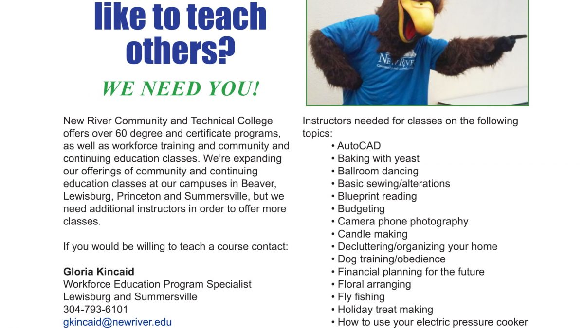Blog Page 2 Of 21 New River Community And Technical College