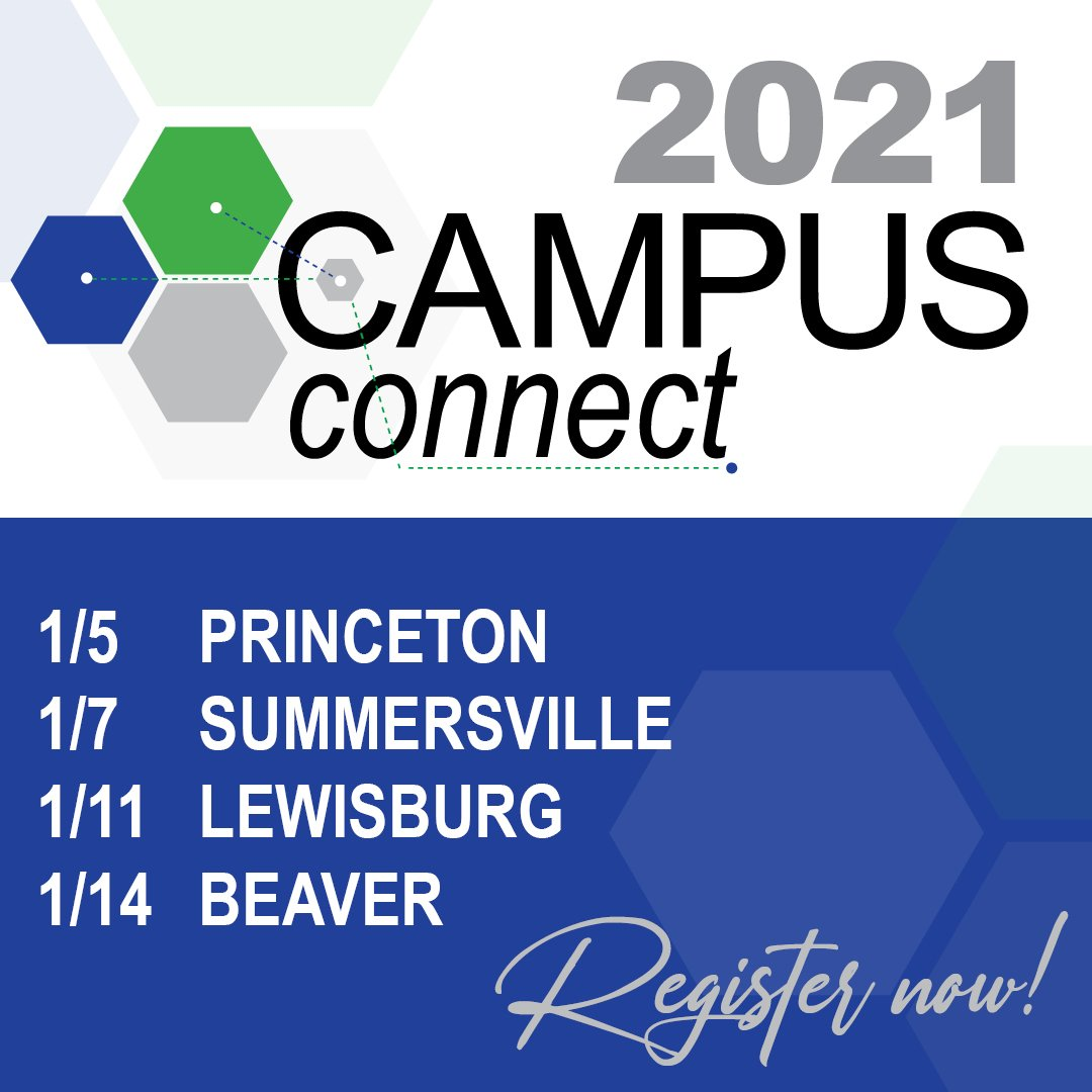 January 2021 registration event dates